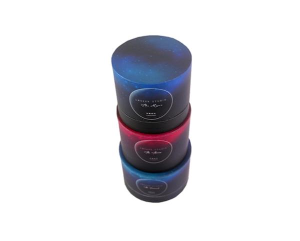 广州平口香薰蜡烛圆筒盒 无烟蜡烛蜡烛盒 摆台蜡烛圆筒包装盒