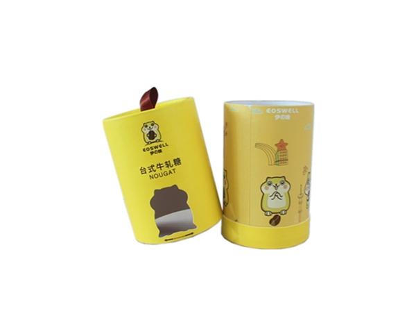 厂家定制牛扎糖筒 内径96外径99高160mm纸筒